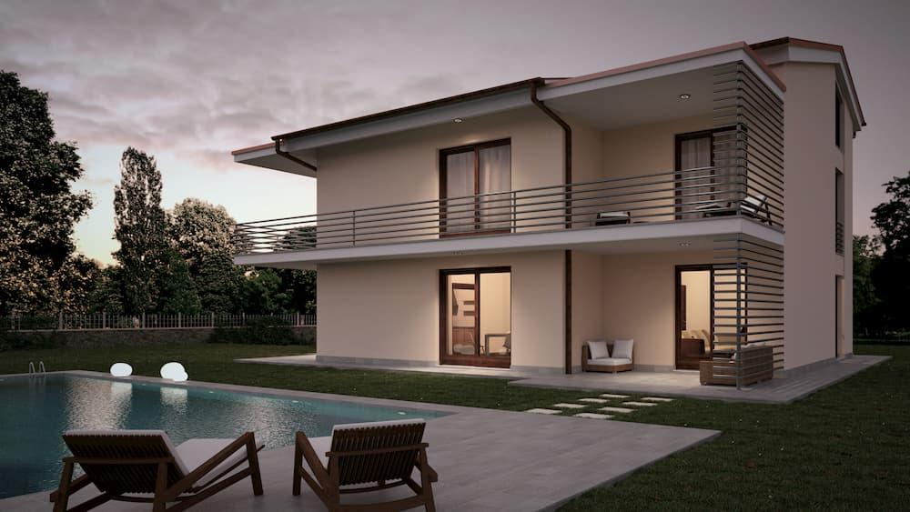 L'idea è di superare il concetto di immobile, causa del disagio tipologico con una casa flessibile e dinamica, quindi elastica